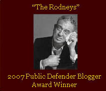 The Rodneys 2007 Award Winner